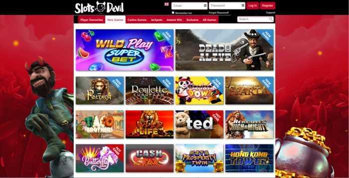 Slots Devil Games