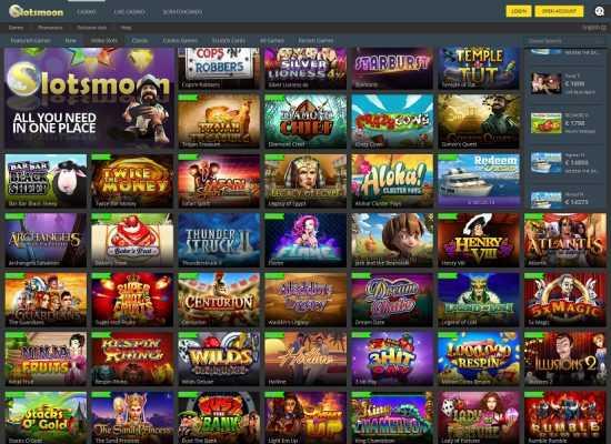 Slotsmoon Games