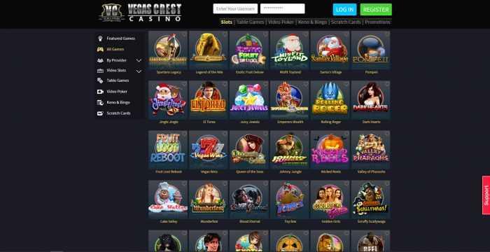 Vegas Crest Games