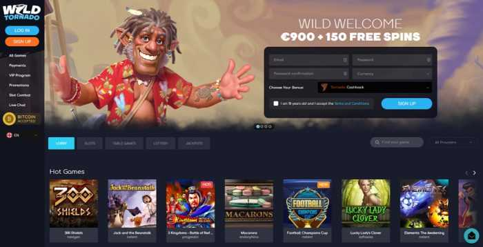 Wild Tornado Homepage