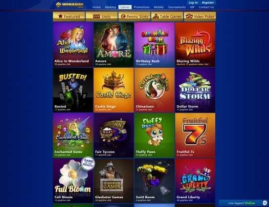 Winaday Casino Games