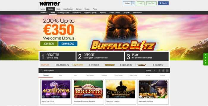 Winner Casino Promotions
