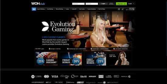WONclub Homepage