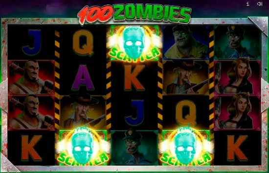 Endorphina 100 Zombies Scatter