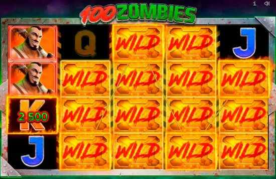 Endorphina 100 Zombies Stacked Wild