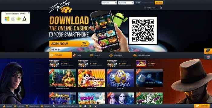 ZigZag777 Homepage