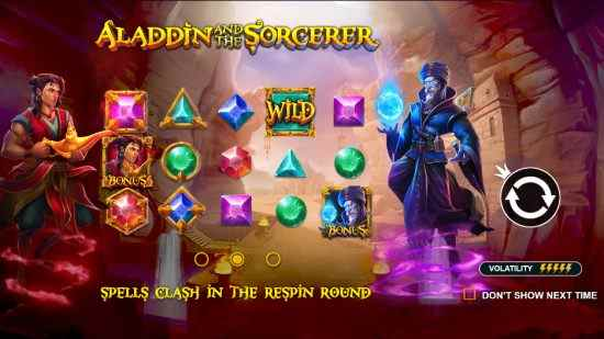 Aladdin and the Sorcerer Pragmatic Play