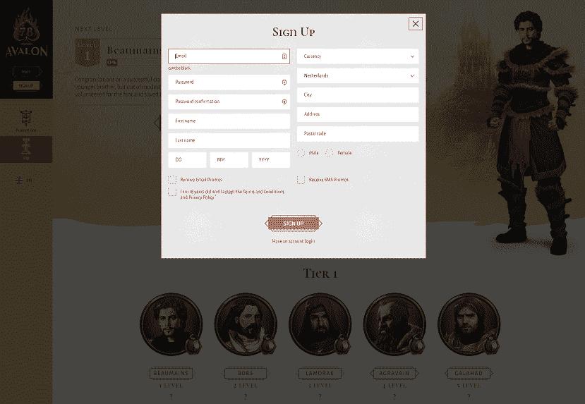 Avalon78 Register