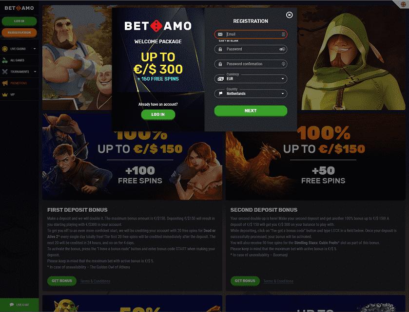 Betamo-Registration