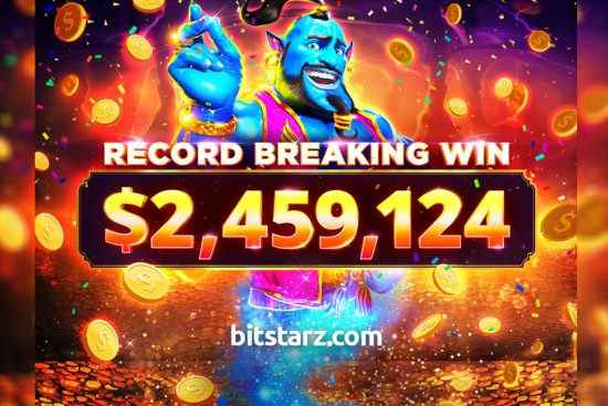 Bitstarz Record Win