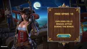 Boom Pirates Free Spins