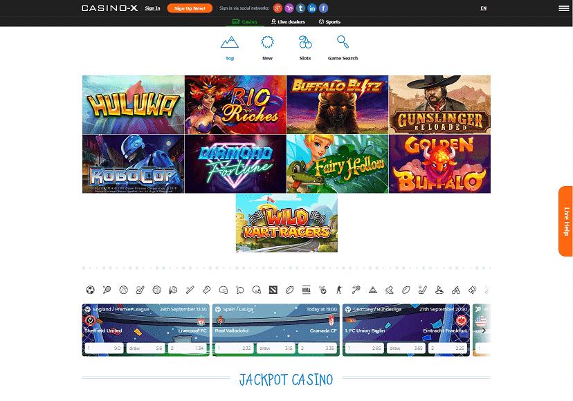 Casino X Games