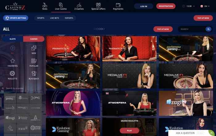 Casino Z Live Casino