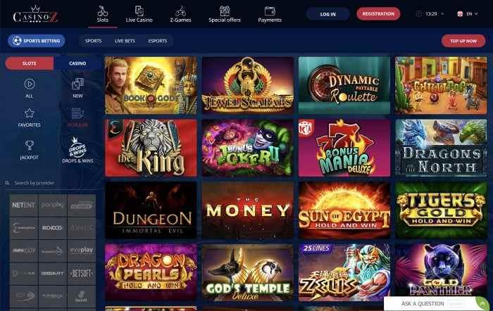 Casino Z Slots