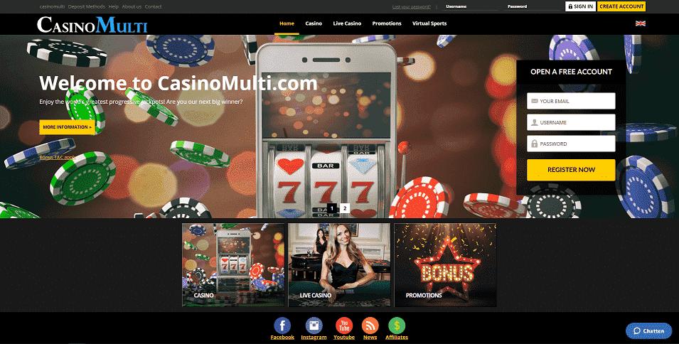 Casinomulti Home