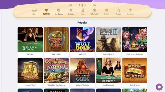 Cookie Casino Games