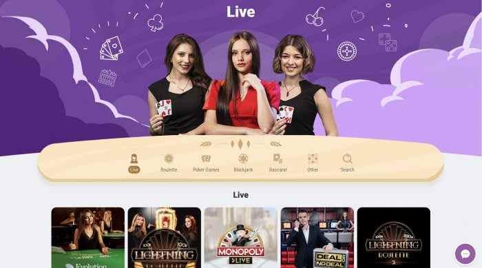 Cookie Casino Live Casino