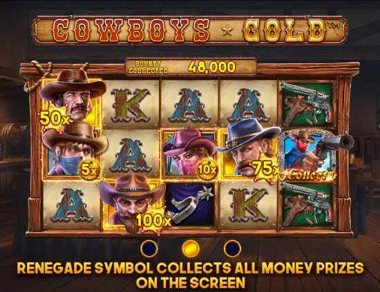 Cowboys Gold Rolls