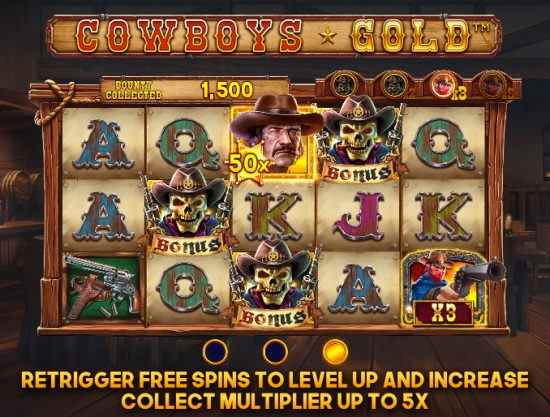 Cowboys Gold Bonus