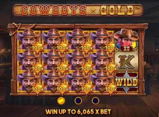 Cowboys Gold Big Win