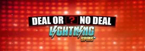 Deal Or No Deal Lightning Spins Blueprint