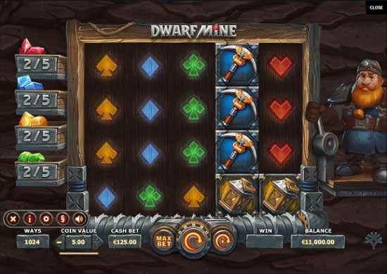 YGGDRASIL New Dwarf Mine