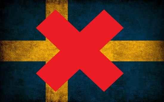 Flag Sweden Red Cross