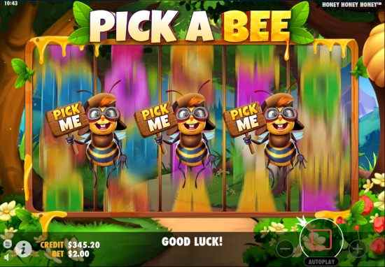 Honey Honey Honey Pick Game