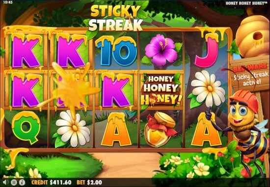 Honey Honey Honey Stricky Streak