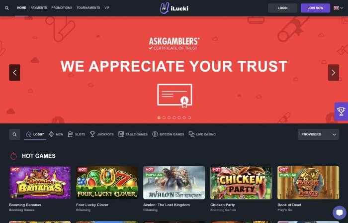 Ilucki Homepage
