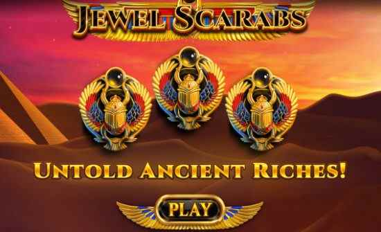 Jewel Scarabs Red Tiger Gaming