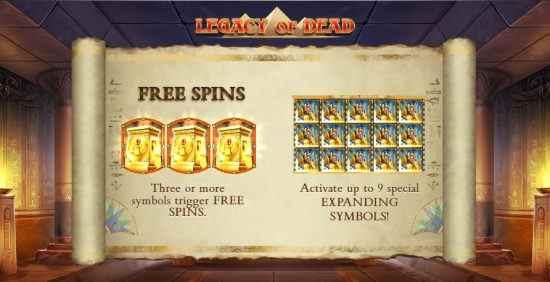 Legacy of Dead Play'n GO