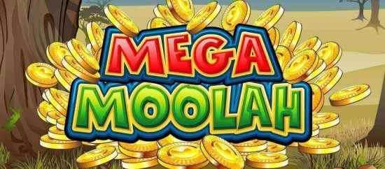 Mega Moolah Logo Jackpot