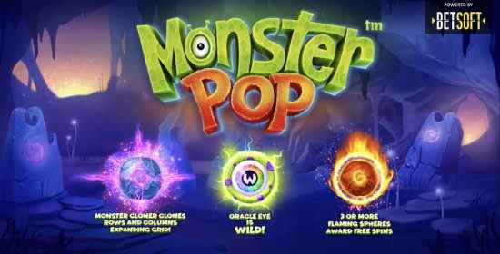 Monster Pop Betsoft Gaming