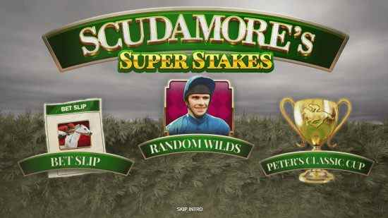 Netent New Scudamore's Super Stakes