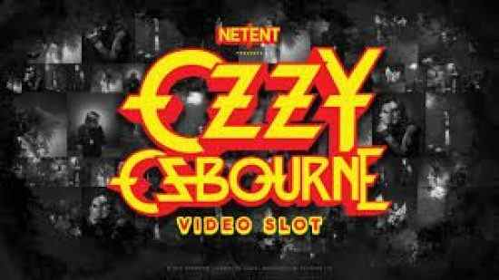 Ozzy Osbourne New Slot NetEnt