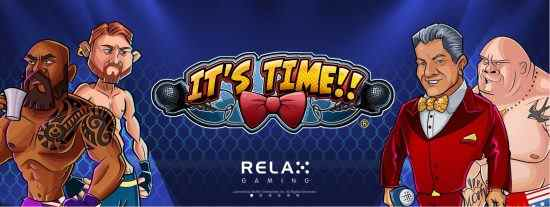 Relax Gaming It's Time New Slot