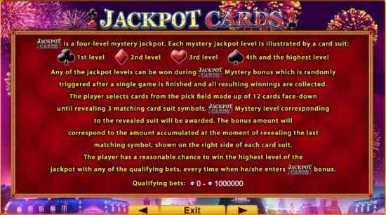 Retro Cabaret Jackpots