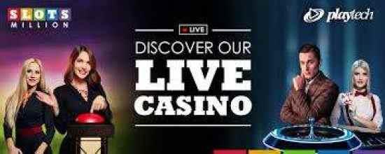 Slotsmillion Live Dealer Games