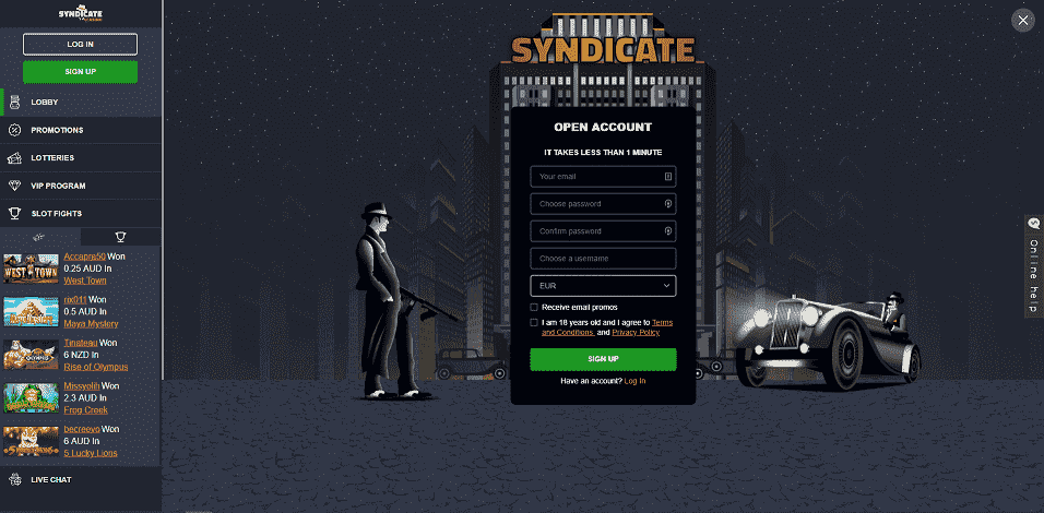 Syndicate Register