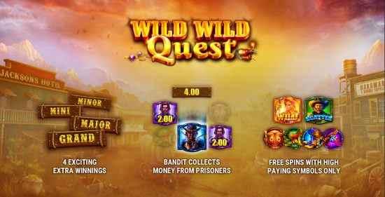 Wild Wild Quest Gameart