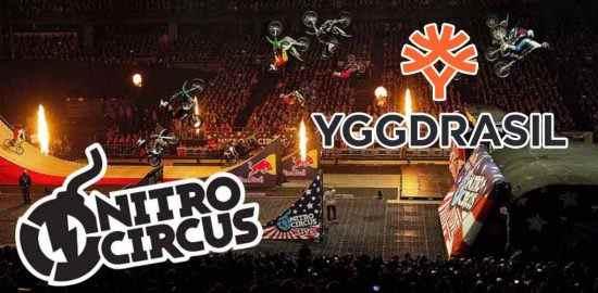 Yggdrasil Gaming New Nitro Circus