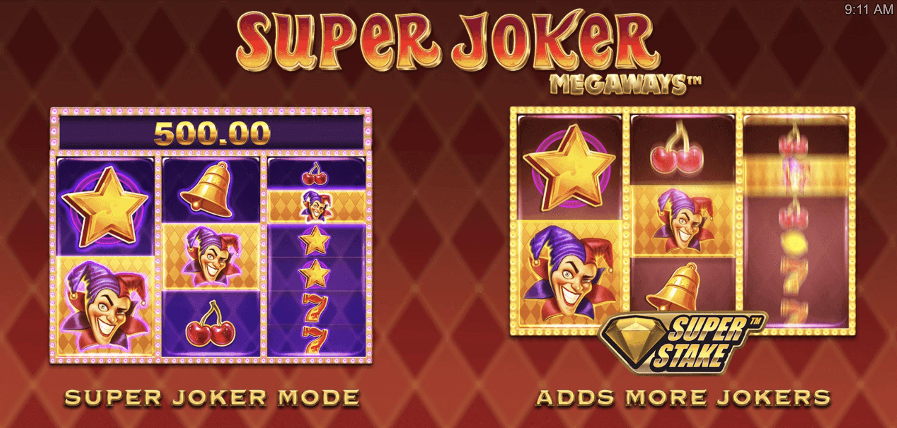 Super Joker Megaways Features