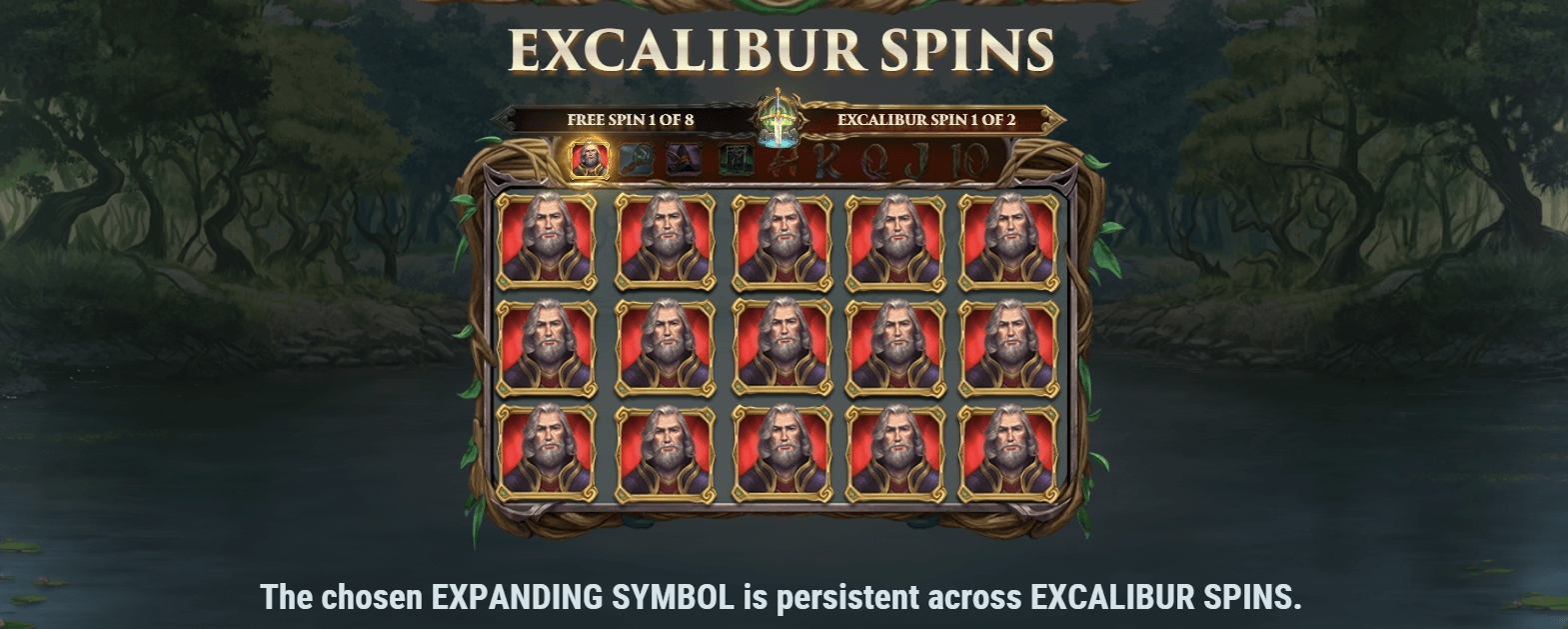 Excalibur Spins