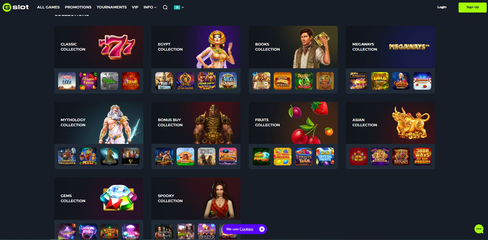 Gslot Casino Collection Screenshot