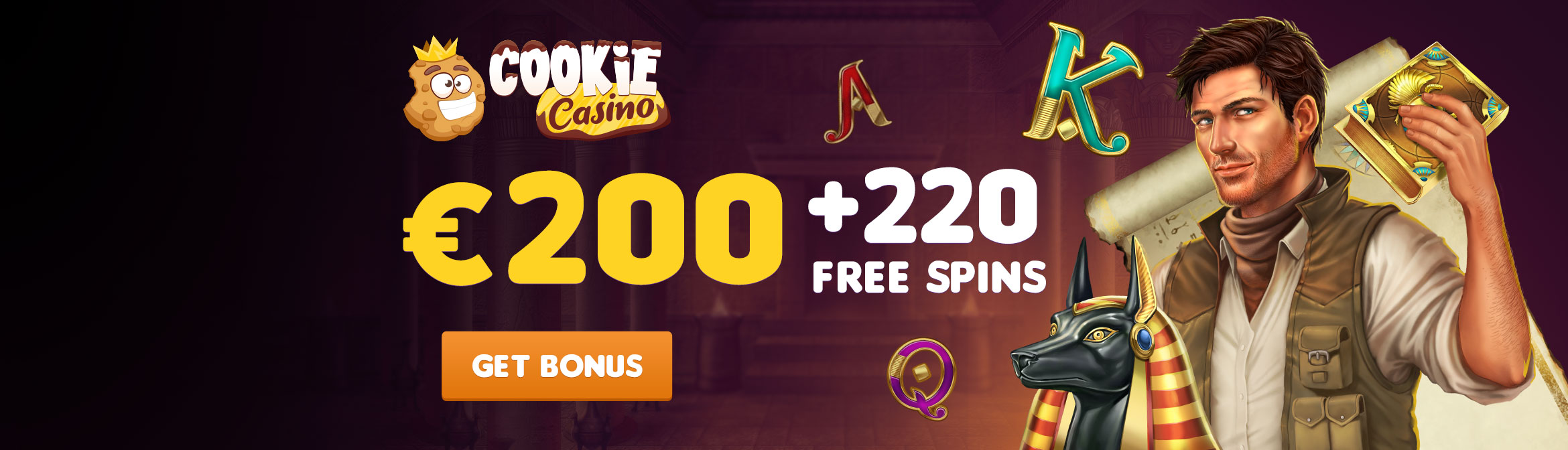 Cookie Casino Header Banner