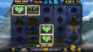 Fire Toad Free Spins Bonus