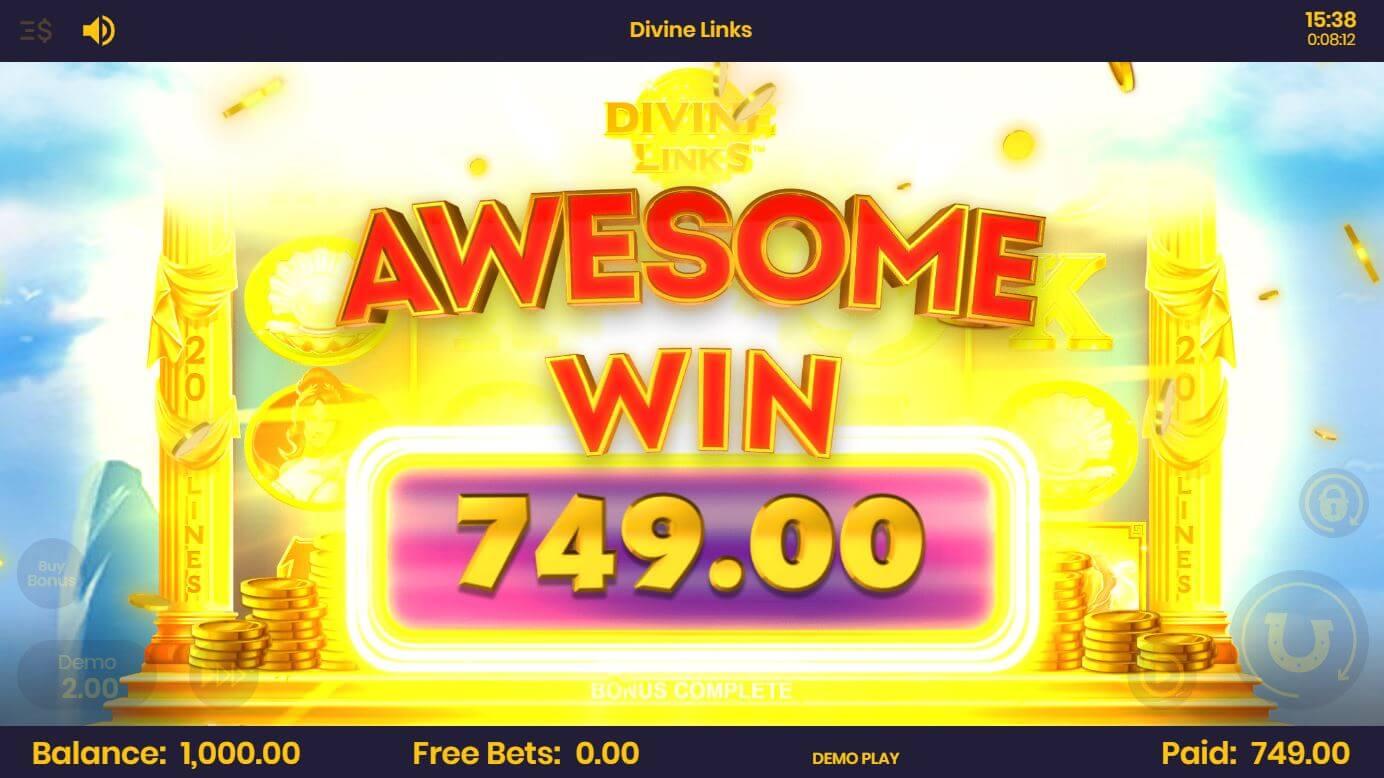 Divine Links Big Win