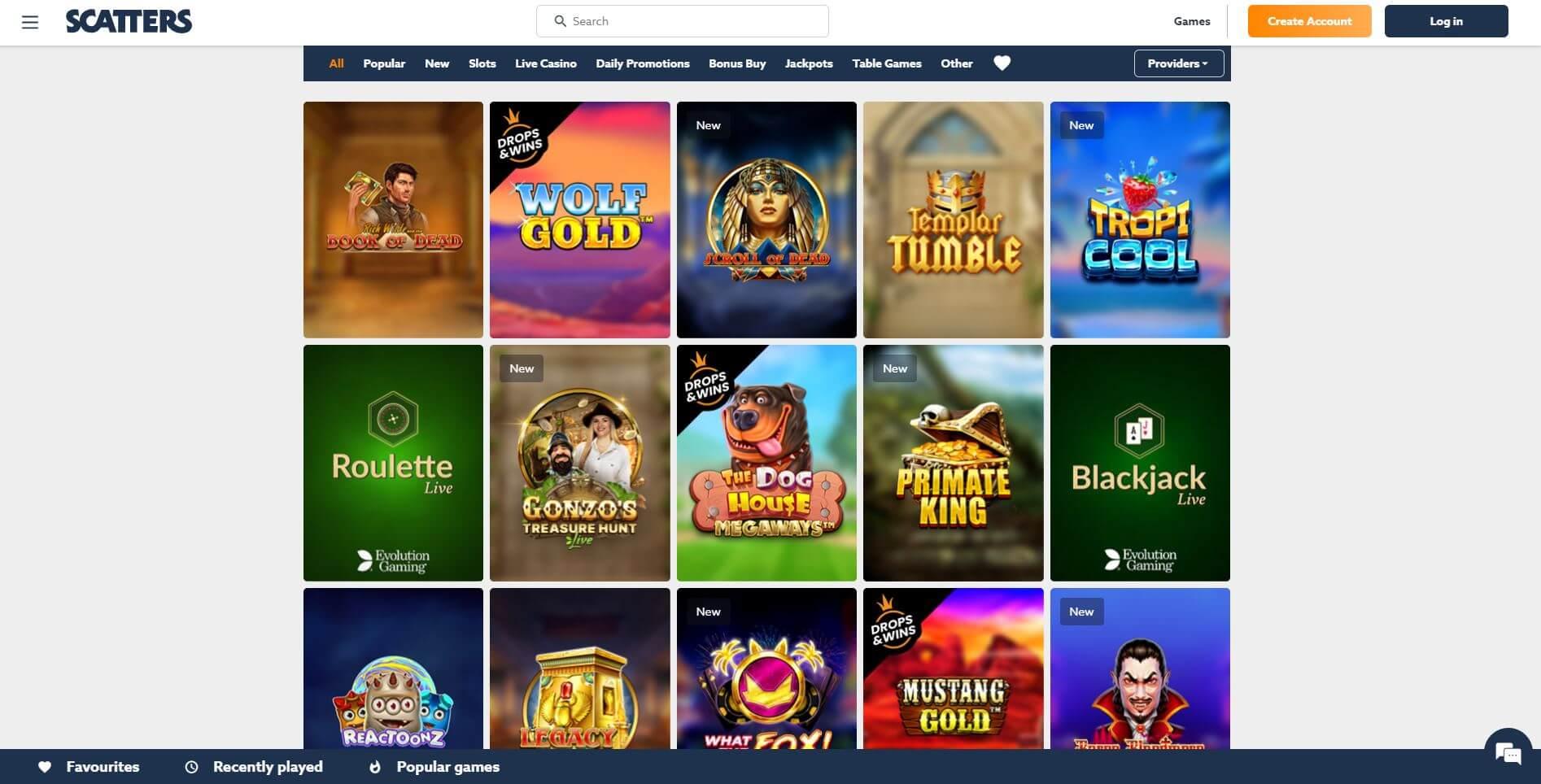 Scatter Casino Slots
