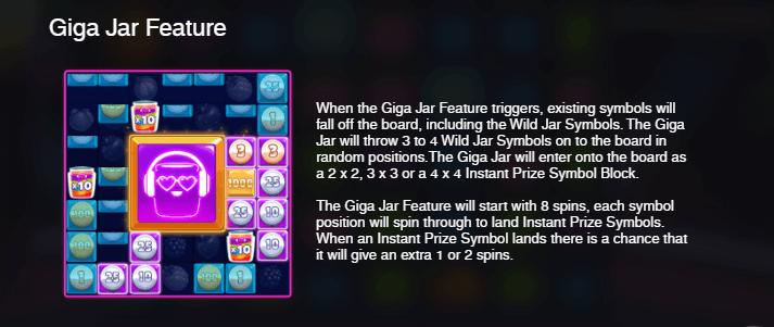 Giga Jar Feature